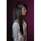 Clips 4 x 4 cm - 45 cm - 100% Human Hair Remy